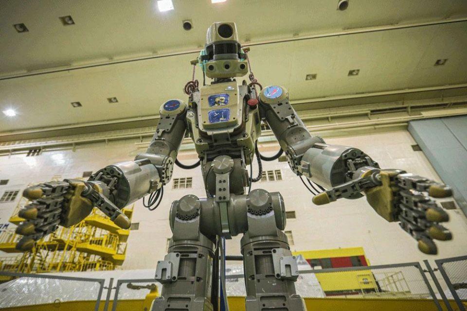 التحاق 'فيودور' أول روبوت بملامح بشرية بمحطة الفضاء الدولية