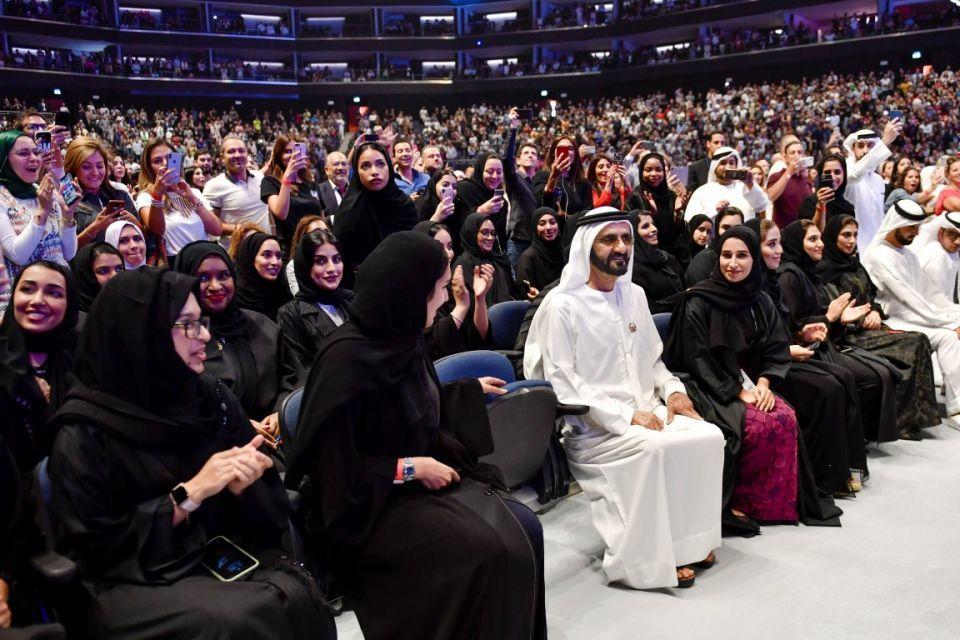 بحضور 10,000 شخص.. محمد بن راشد يشارك في فعالية «تحقيق المستحيل»