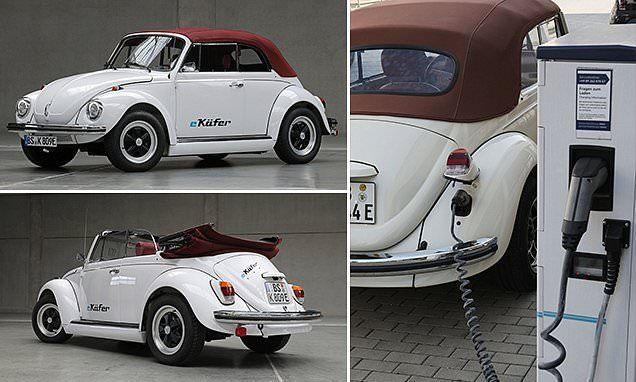 فولكس فاكن تعيد الحياة لسيارات البيتل القديمة وتؤمن تحويلها إلى سيارات كهربائية