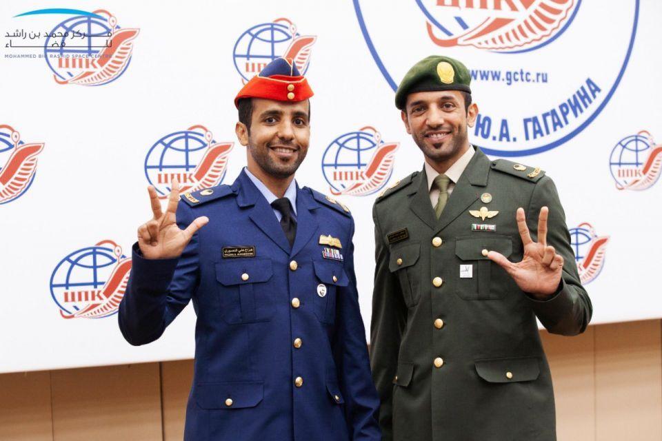 عزل صحي لرائدي الفضاء الإماراتيين قبل 15 يوما من الإنطلاق للفضاء