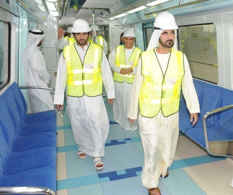 مترو دبي:  1.5 مليار راكب في 10 سنوات بدقة مواعيد 99.7 %