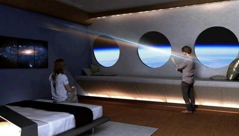 بالصور : أول فندق فضاء في العالم يفتتح أبوابه عام 2025