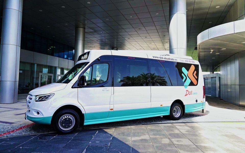 إنترنت مجاني على متن حافلات النقل العام في إمارة أبوظبي