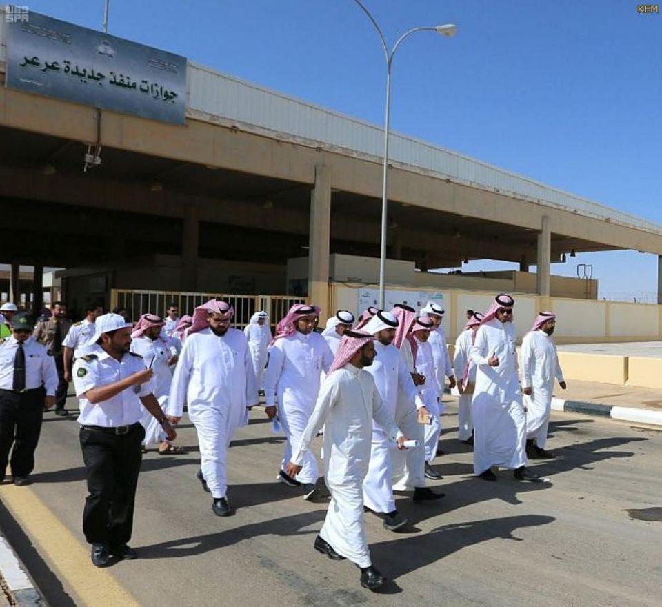 اتفاق سعودي عراقي لفتح منفذ جديدة عرعر منتصف أكتوبر القادم