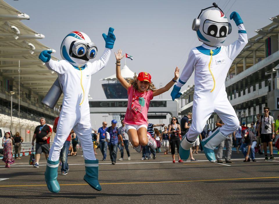 برنامج حافل تزامناً مع سباق جائزة الاتحاد للطيران الكبرى للفورمولا 1 بأبوظبي