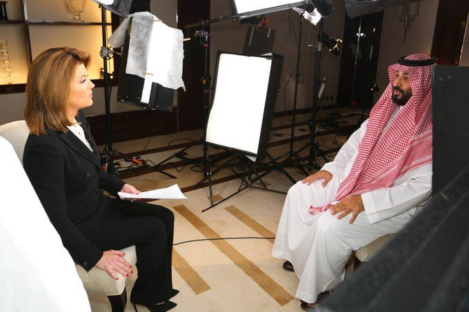ولي العهد السعودي يطل من جديد في أشهر برامج قناة CBS الأمريكية