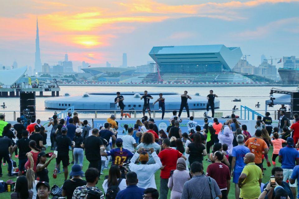 30 يوما من النشاط  والصحة خلال تحدي دبي لليّاقة 2019