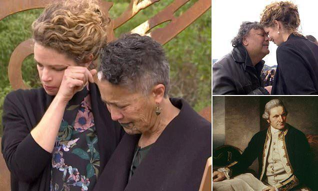 المفوضة  البريطانية تأسف باكية ولا تعتذر عن قتل جيمس كوك  لسكان نيوزيلندا الأصليين