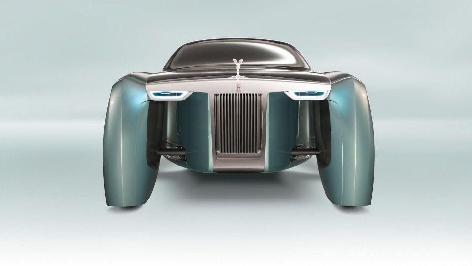 بالصور : رولز رويس ترحب بسيارتها الكهربائية 103EX