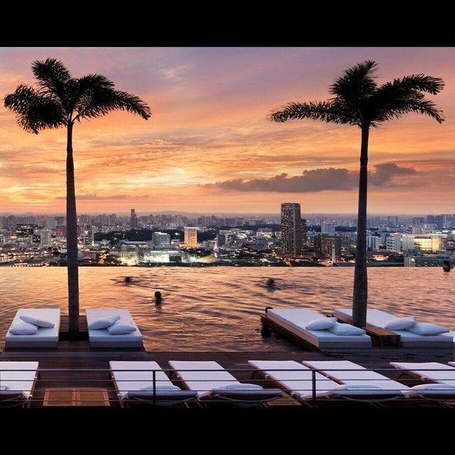 بالصور : مسابح فندقية مذهلة حول العالم