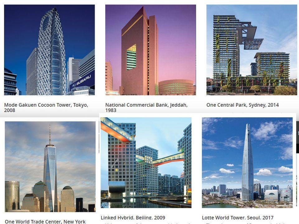 شاهد أهم 50 مبنى شاهق في العالم