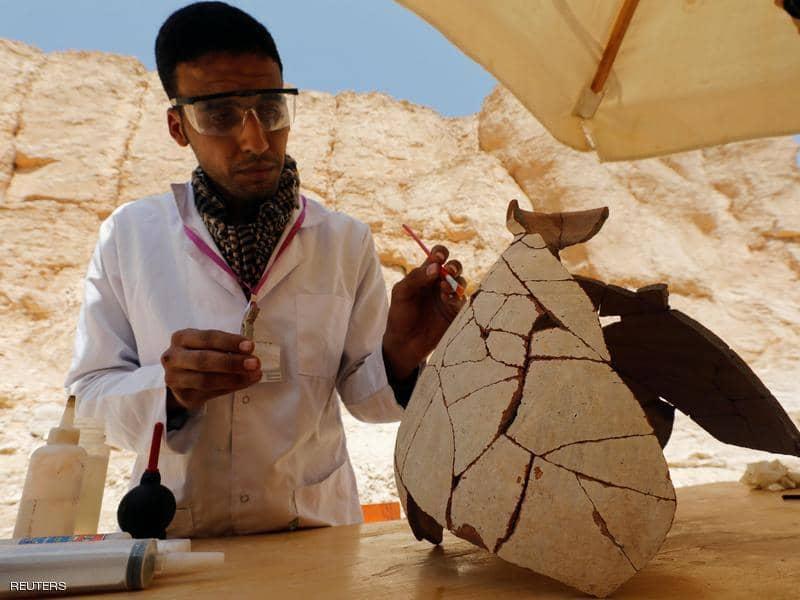 مصر تكشف عن منطقة صناعية أثرية في وادي القرود بالأقصر