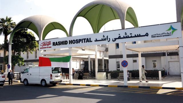 شرطة دبي تنقل طفلتان ضحيتا حادث مروري في صلالة وتتكفل بعلاجهما