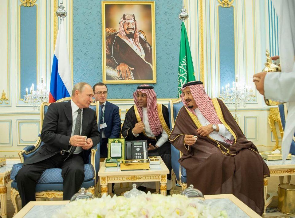 الرئيس الروسي يزور السعودية مع تزايد نفوذ بوتين في المنطقة العربية