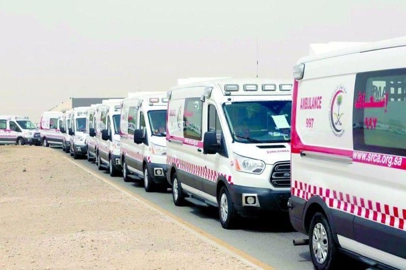 تثبيت كاميرات مراقبة خلف سيارات الإسعاف في السعودية لرصد ملاحقيها