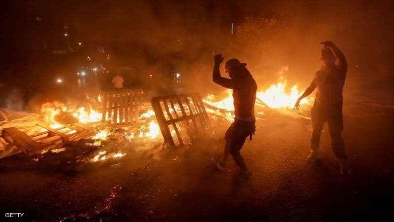 شاهد انتفاضة في سجني رومية وزحلة تزامنا مع الاحتجاجات الشعبية في لبنان
