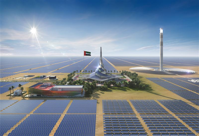 ديوا توفر زيارات إلى مجمع محمد بن راشد آل مكتوم للطاقة الشمسية