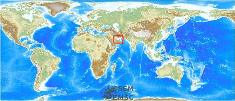 زلزال قوي يضرب ميناء بندر عباس جنوبي البلاد