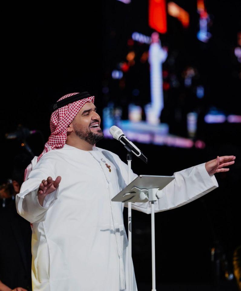 حسين الجسمي ومارايا كاري شريكين إستثنائيين بحفل عالمي في إكسبو 2020 دبي بالإمارات