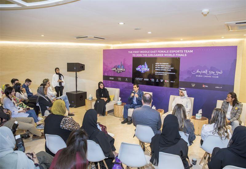 أول منتخب فتيات للألعاب الافتراضية في الشرق الأوسط ينطلق من دبي