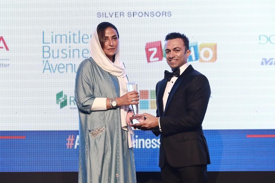 تكريم الأميرة لميا آل سعود بجوائز أريبيان بزنس للإنجازات