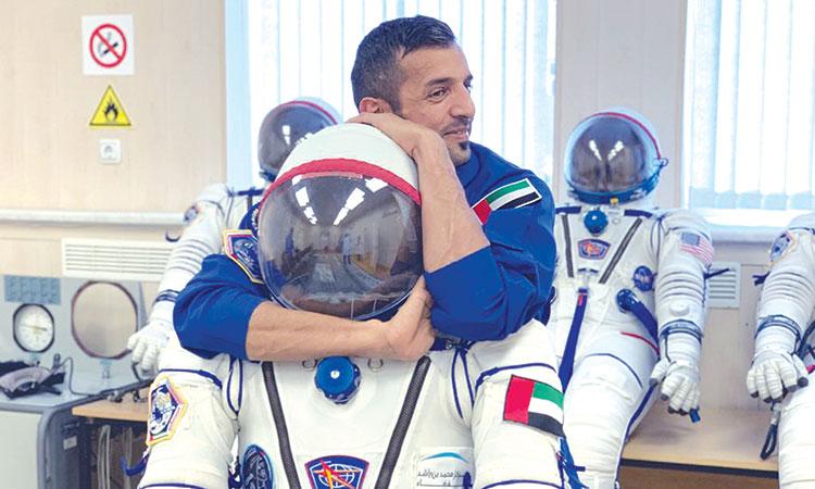 النيادي: الجوجيتسو عززت قدراتي على تخطي التدريبات الشاقة لبرنامج رواد الفضاء