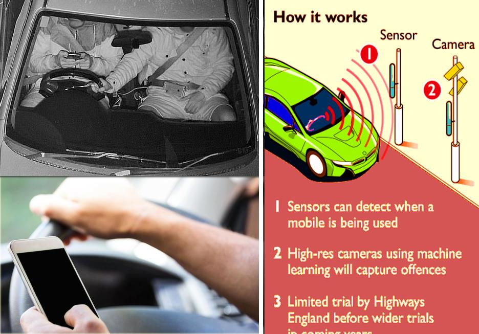 بريطانيا تمنع لمس الهاتف الجوال عند قيادة السيارة