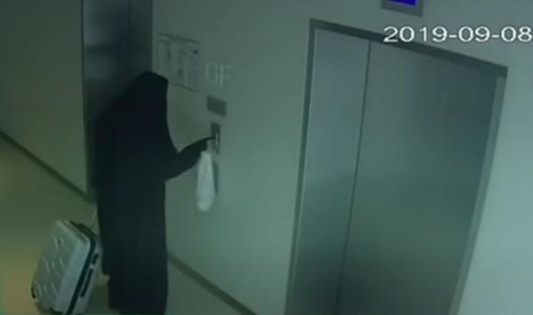 فيديو: شرطة دبي تقبض على سارق أوروبي تخفى بزي النساء