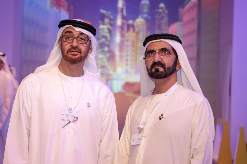 محمد بن راشد ومحمد بن زايد يعلنان عن تصميم هوية إعلامية مرئية للإمارات