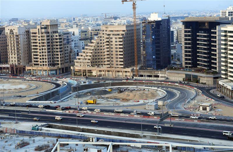 طرق دبي تنجز مشروع الطرق المؤدية لـ جوهرة الخور