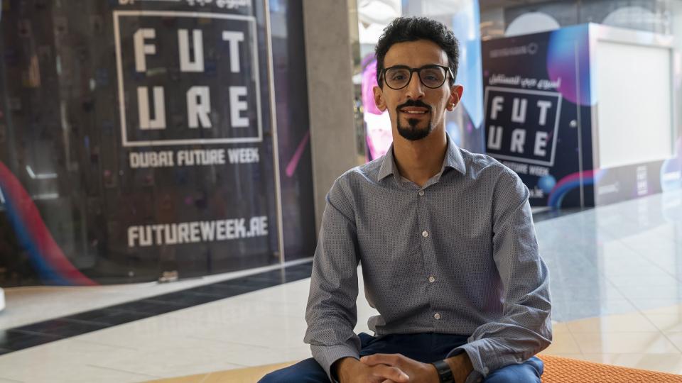 أسبوع دبي للمستقبل: السعودي سعيد الزهراني يوظف تكنولوجيا الطائرات المسيرة لخدمة الإنسان
