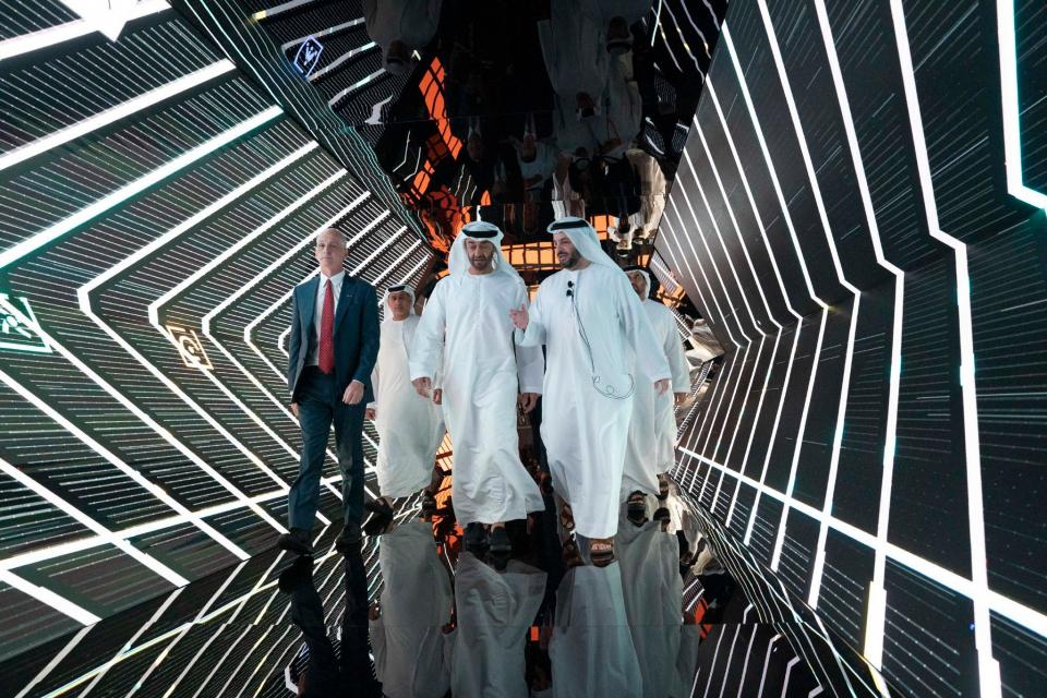 """الإمارات تطلق مجموعة التكنولوجيا المتقدمة """"إيدج"""""""