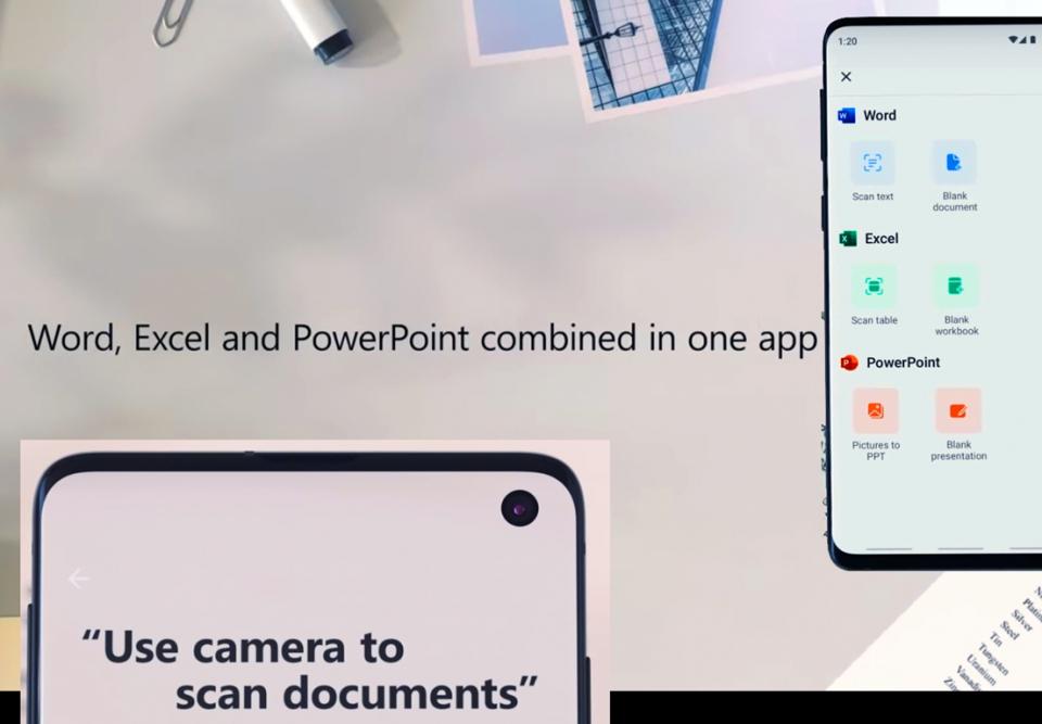 شاهد كيف فعلتها مايكروسوفت أخير، تطبيق واحد للكل على الجوال