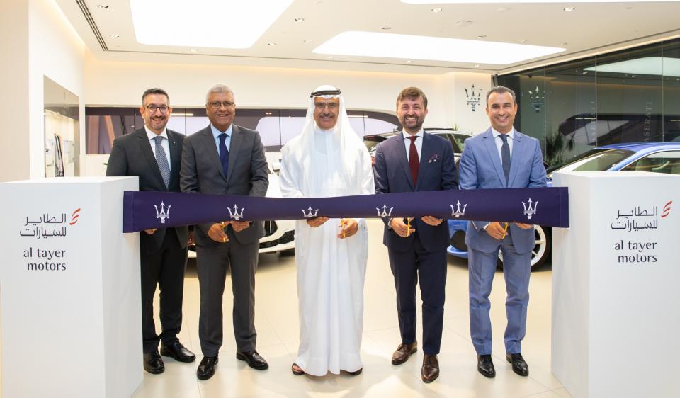 """""""الطاير للسيارات"""" تفتتح صالة عرض فريدة لسيارات """"مازيراتي"""" في دبي"""
