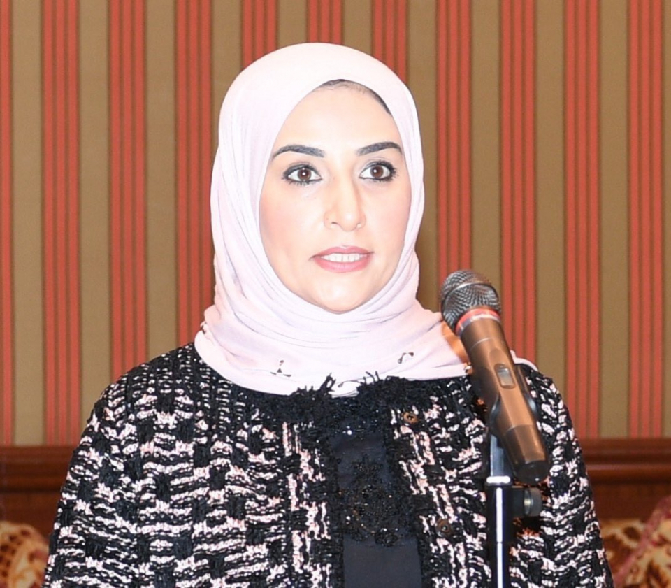 أول وزيرة مالية في الخليج