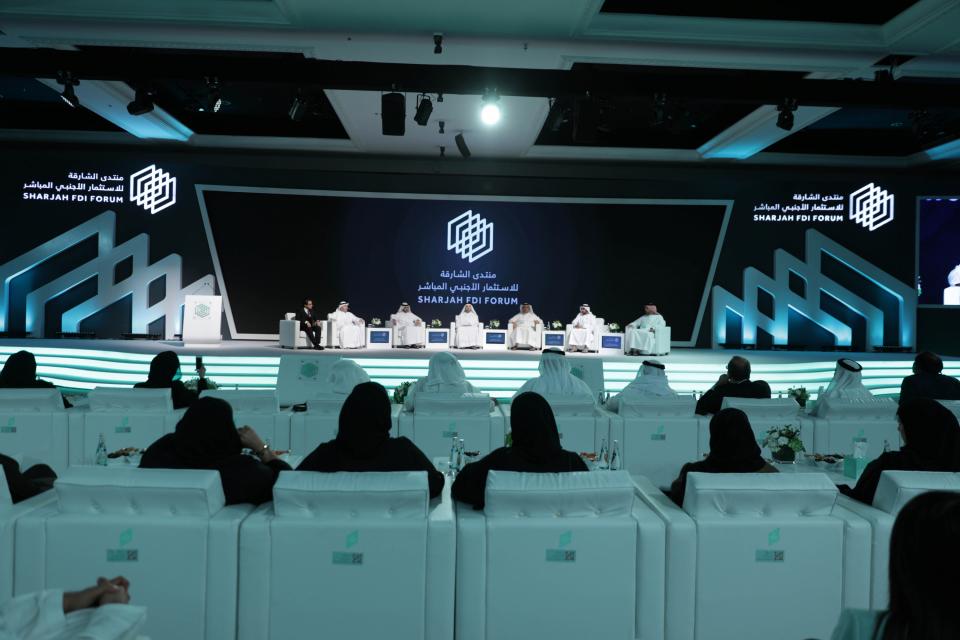 سياسات تنمية رأس المال الفكري على أجندة منتدى الشارقة للاستثمار الأجنبي المباشر