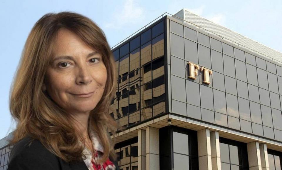 صحافية من أصول لبنانية تصبح أول امرأة تتولى رئاسة تحرير فايننشال تايمز