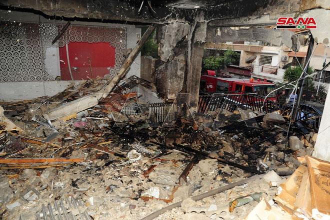 اسرائيل تغتال قياديين فلسطينيين في قصف متزامن على دمشق وغزة