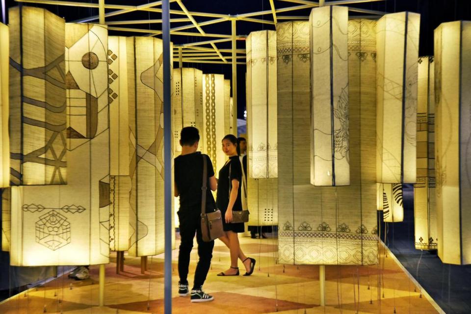 بالصور : نظرة على أسبوع دبي للتصميم