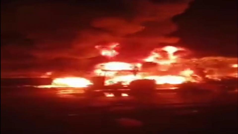 مصر: 7 قتلى وإصابة 16 آخرين في اشتعال خط أنابيب بترول بعد محاولة سرقته