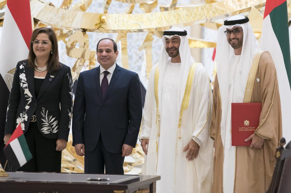 منصة استثمار مشتركة بين مصر والإمارات بـ 20 مليار دولار