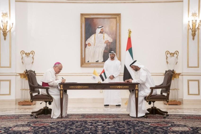 الإمارات والفاتيكان تعززان التعاون لمكافحة الأمراض عالمياً