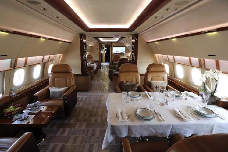 30 % من طائرات إيرباص لرجال الأعمال في الشرق الأوسط