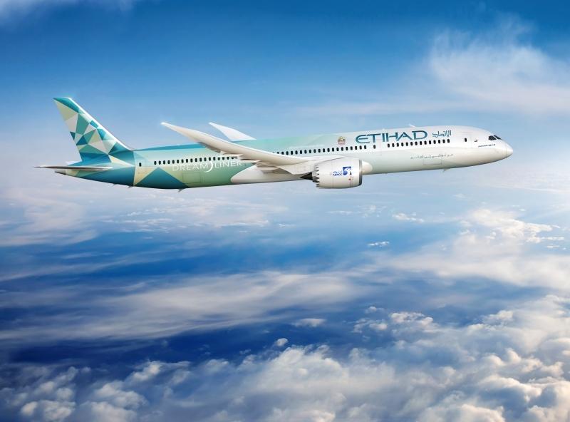 طائرة «الاتحاد غرينلاينر» أول شراكة مع «بوينغ» لخفض الانبعاثات الكربونية