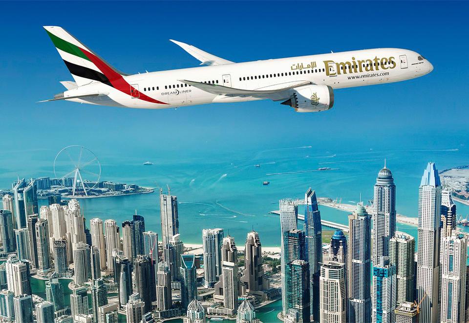 طيران الإمارات تشغل 4 رحلات أسبوعياً إلى بيروت من 1 يوليو