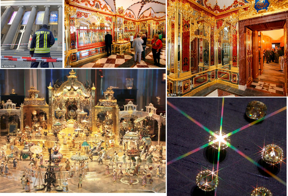 مليار يورو قيمة كنز سرق من متحف ألماني