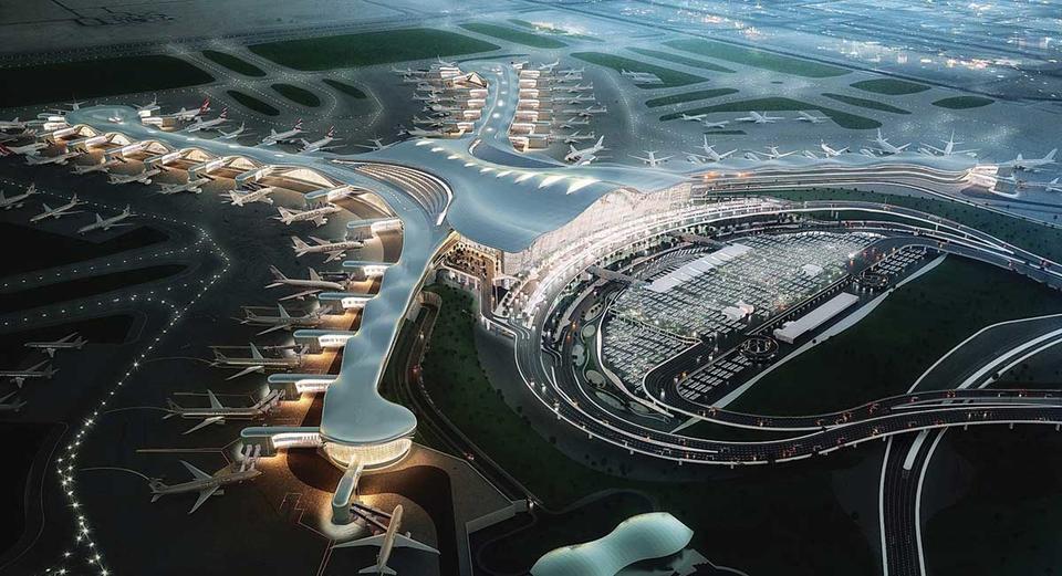 مع قرب اكتماله.. مطار أبوظبي الجديد يرسي معياراً جديدا لعشرين عاما مقبلة