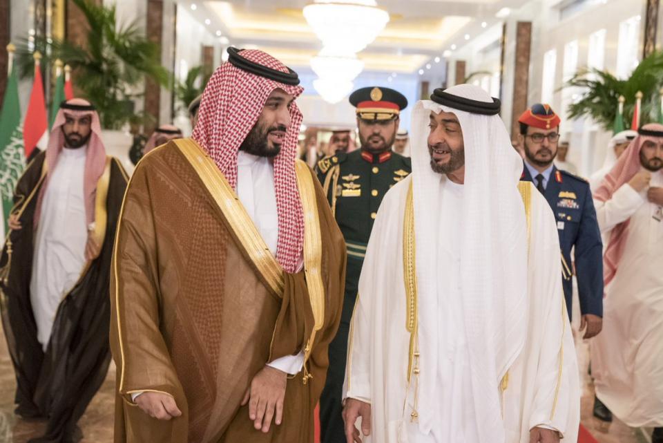 ولي العهد السعودي محمد بن سلمان يصل  الإمارات