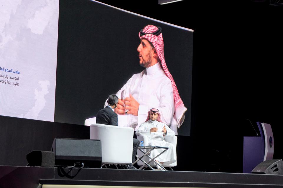 الأمير خالد بن الوليد بن طلال يشارك في مهرجان الشارقة لريادة الأعمال