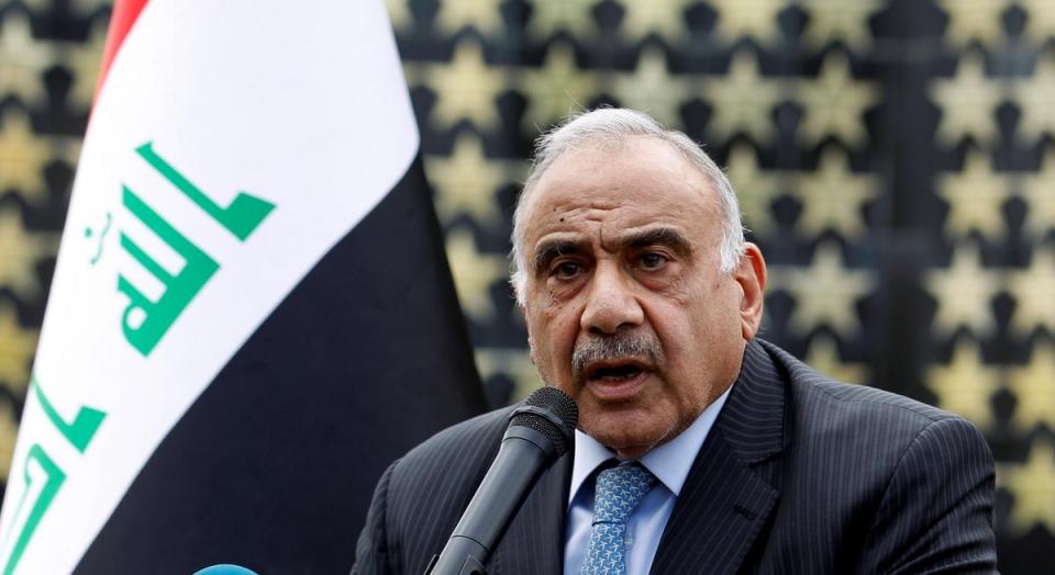 رئيس الوزراء العراقي عادل عبد المهدي يعلن أنه سيقدم استقالته